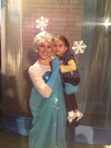 Adri with Elsa