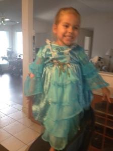 Adri's dress