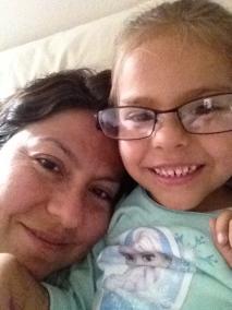 Adri and mama